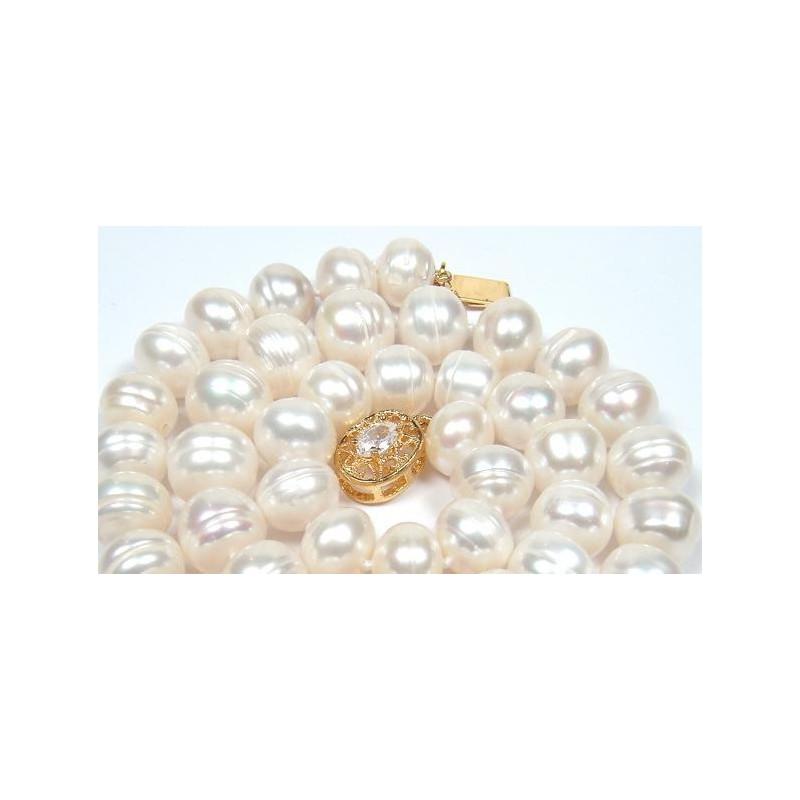 Cercei cu perla gri 7 mm