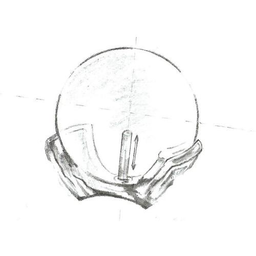 Cercei Elegant Drop Lavanda