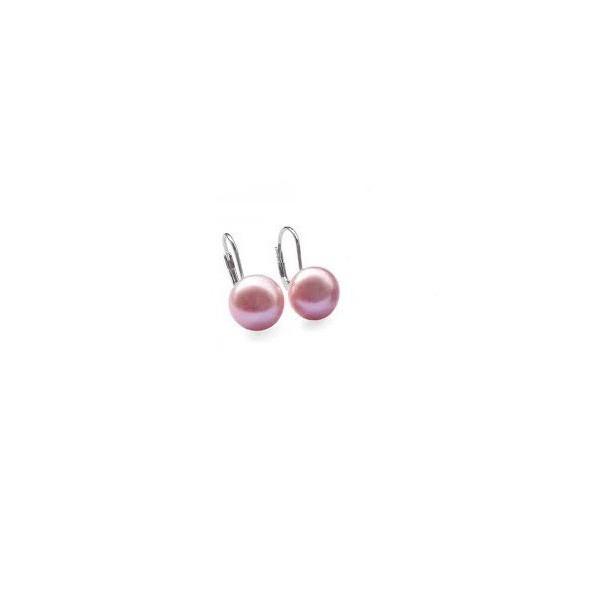 Cercei Coral Pink Rose