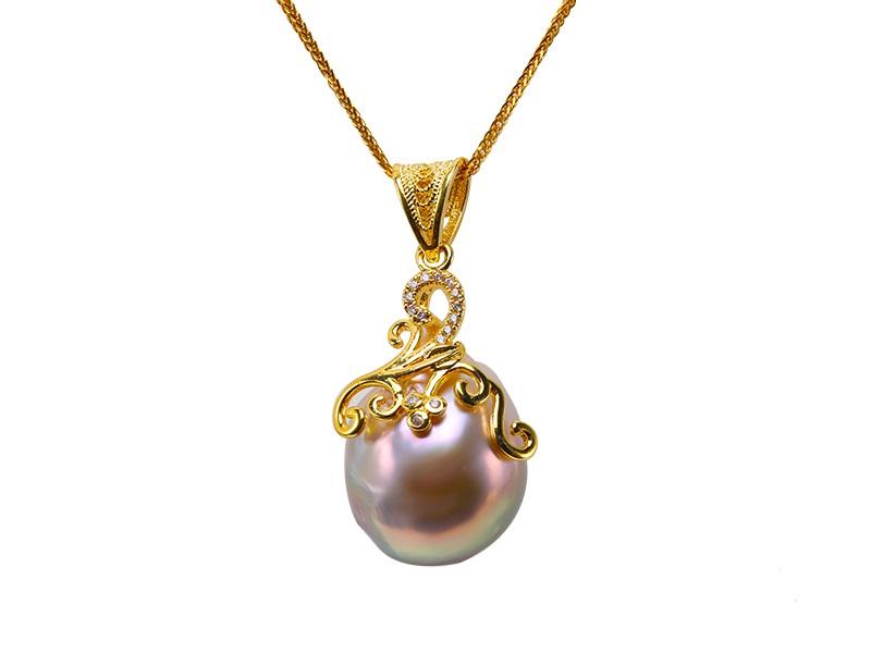 pandantiv perla baroc ou