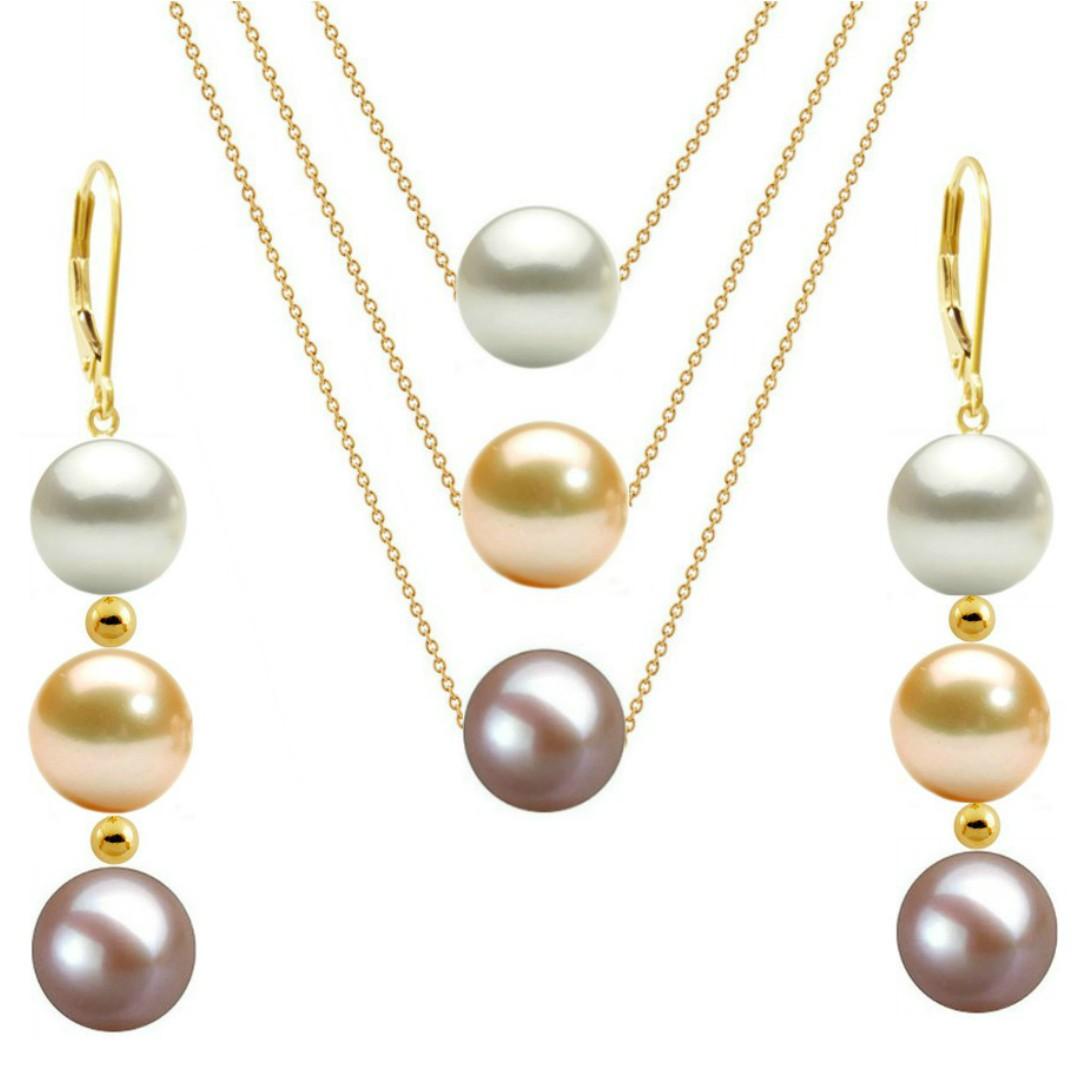 Set Aur si Perle Naturale Premium