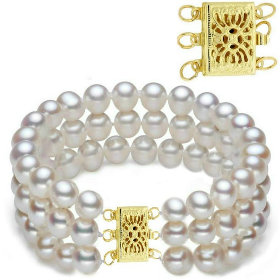 Bratara Aur si Perle Naturale Premium