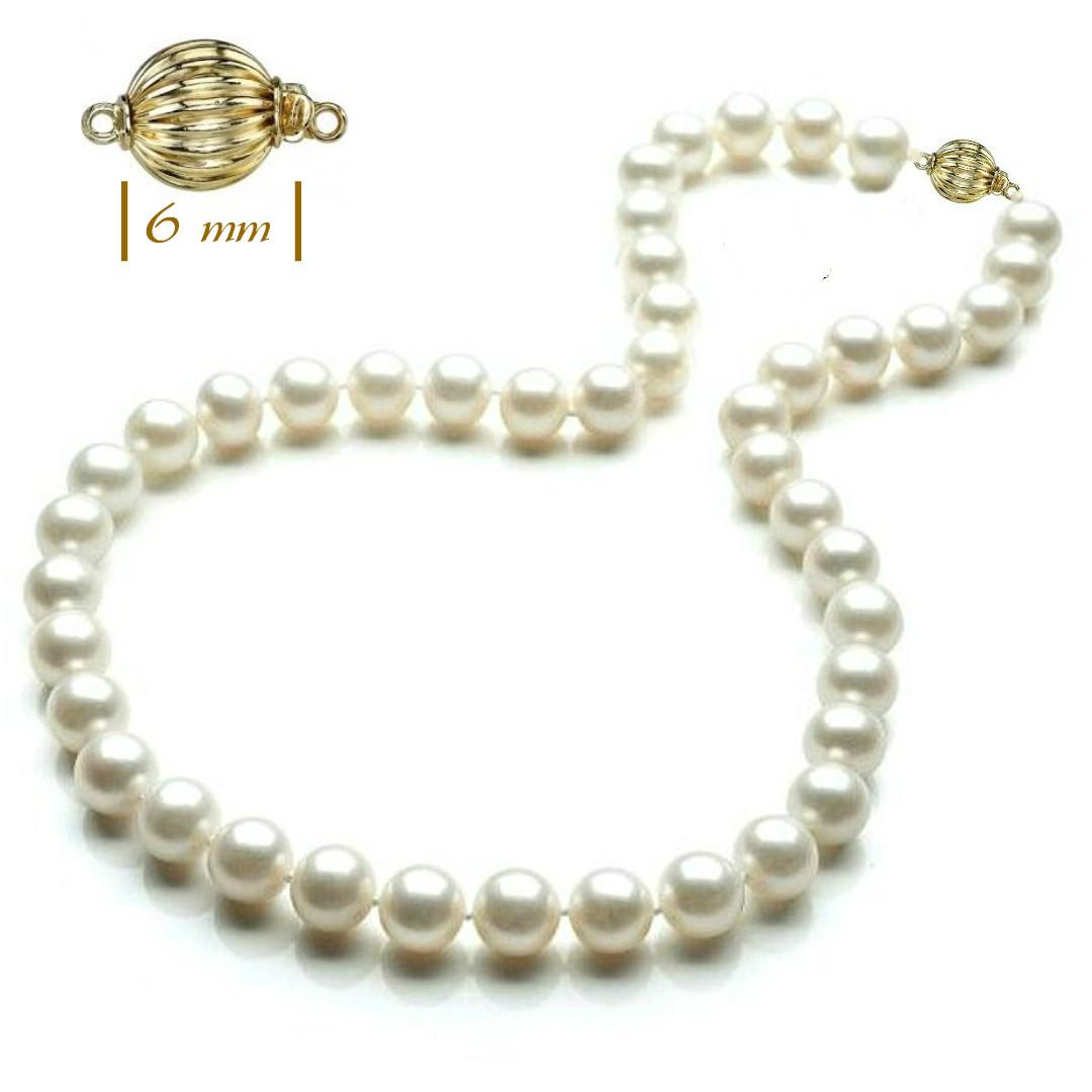 Colier Aur si Perle Naturale Premium