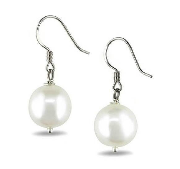 Cerrcei cu perle albe