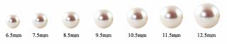 marimea perlelelor naturale