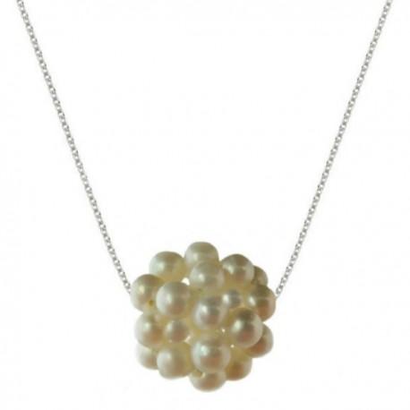 colier de argint cu perle bulgaras