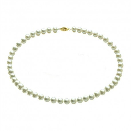 colier perle premium si aur