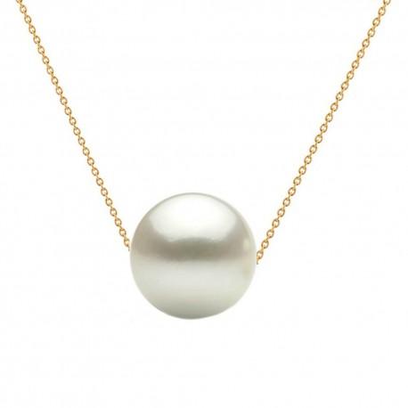 colier aur si perla premium