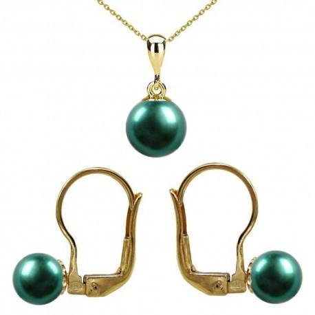 set aur si perle smarald