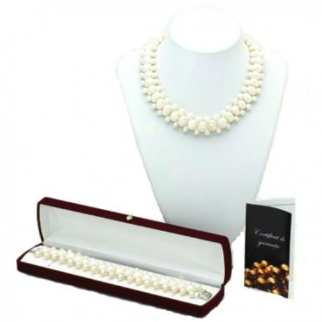 set perle ovale